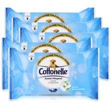 5x Hakle Cottonelle feuchte Toilettentücher Cotton Fresh 42 Tücher, Nachfüller