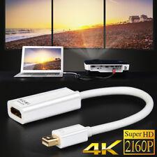4K Thunderbolt Mini DisplayPort DP to HDMI Cable Adapter Fr Macbook Pro Air iMAC