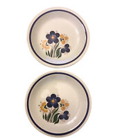 Figgjo Mayflower Plates Small Porcelain Dessert Plates Set of 2 Vintage