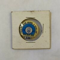 Milk Ice Cream Drivers And Dairy Employees Vintage Union Button Teamsters 1960