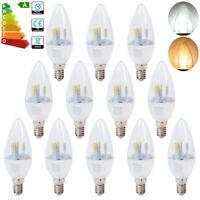 12/6x 5W E14 SES Dimmable LED Candle Bulbs Spotlight 50watt Spot Bulb SMD Lamps