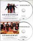 STORNOWAY Pair of UK promo test CDs Watching Birds I Saw You Blink 4AD