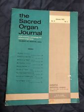 The Sacred Organ Journal January 1975 Vol. 9 No.3