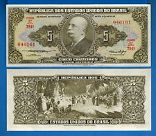 Brazil P-209 Ten Cruzeiros Year ND 1986-87 Uncirculated Banknote