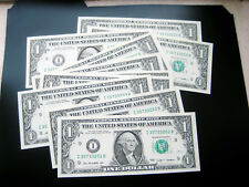 (10) $1 2009 (((I MINNEAPOLIS)))FEDERAL RESERVE UNC BU NOTE((SERIES# 221- 230))