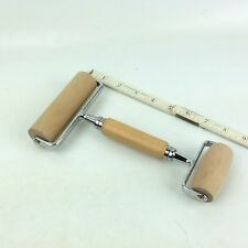 Bakery Wood Handle Roller Rolling Pin Pastry Tool Free Ship