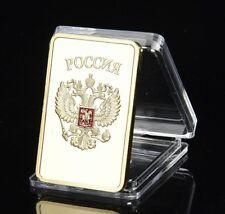 CCCP / RUSSLAND / Sowjetunion - BARREN - MEDAILLE - MÜNZE - MIT GOLD & FARBE