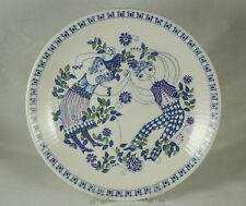 Vtg Figgjo Flint Turi Design Lotte Pattern 8 inch Sandwhich Plate Norway
