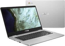 "Asus C423N Chromebook 14"" HD Intel N3350 4GB DDR4 64GB eMMC Nano Edge, Chrome OS"