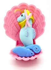 ⭐ ⭐ G1 Euro My Little Pony Sea Pony Surf Dancer con Orig Peine, Cepillo & Shell!