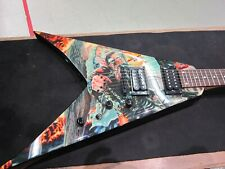 DEAN DAVE MUSTAINE Guitarra ABOMINATION FLYING V