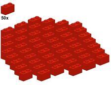 - Stein LEGO® Bricks 50Stk 3004-01 Red 1x2 Rot
