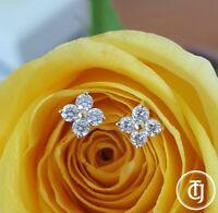 0.24tcw G/SI1 Genuine Diamond Stud Earrings in 18k 18ct Yellow Gold by CTJ