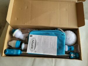 Hurricane Spin Scrubber Cordless Rechargeable Power Scrubber As Seen On TV