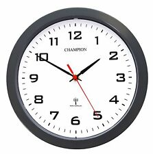 RC55DCFS European Central Time Signal DCF 77 Radio Controlled Quartz Wall Clock