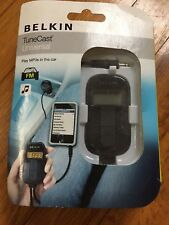 Belkin F8M066-P TuneCast Auto Universal FM Transmitter 2x FM Presets NEW IN BOX