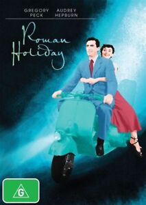 Roman Holiday - 80 Years Of Audrey DVD (Pal, 2009) BRAND NEW & SEALED -FREE POST