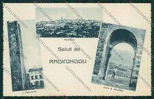 Siena Radicondoli Saluti da cartolina QQ1875