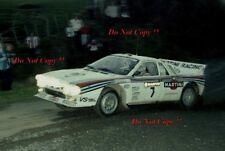 Attilio Bettega MARTINI LANCIA 037 RALLY NEW ZEALAND RALLY 1983 fotografia 6