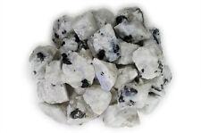 1 lb Wholesale Rainbow Moonstone Rough Stones - Tumbling Tumbler Rocks, Reiki