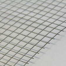 """5x Welded Wire Mesh Panels 3'x2' Galvanised Steel Sheet 1"""" Holes Metal Grid 19g"""