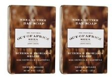 New listing Out of Africa Pure Shea Butter Bar Soap Eczema & Psoriasis Relief 2 Pack