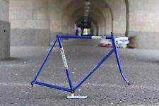 Gios Super Record Frame / 58 cm/ blue / Vintage Fork Gabel Columbus