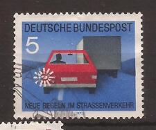 1971 New Traffic Rules 5 Pf used, Michel 670.