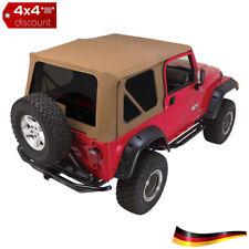 Softtop, capote, oui, Spice Denim Jeep Wrangler TJ 1997/2006