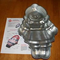 Wilton STORYBOOK DOLL CAKE PAN GUC w/instructions #502-968 / #2105-964 Vntg 1971