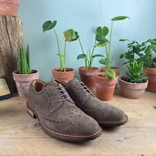 Ecco Virus I Shoes Brown Mens UK 7.5 Sample