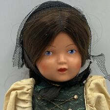 "11"" Schildkrot Turtle Mark # 29 Celluloid Girl Doll With Tag"