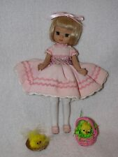 "Robert Tonner 8"" Tiny Betsy McCall Doll Dressed In Pink W/Extras"