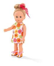 Götz Stehpuppe Puppe Mia 27cm blonde Haare & blaue Schlafaugen Geschenk 1513017