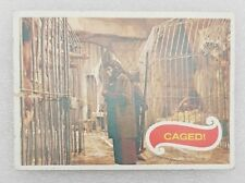 trade cards caged card #21 planet of the apes used