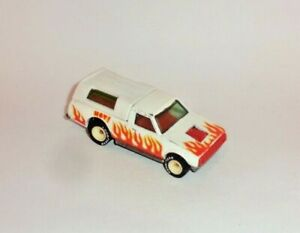 HOT WHEELS Loose REAL RIDERS Dodge D50 (White Hubs)