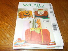 McCalls CRAFTS Pattern M6857 ~ Sewing Machine Covers ~ Holiday ~ Christmas etc