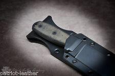 Esee-4 'The Freedom' Custom Build Leather Sheath Backer