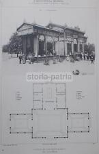 ARCHITETTURA_ANTICA PROSPETTIVA_CHALET RISTORANTE EMILIANO_ZEMMI_PROGETTO MUGGIA