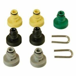 Karcher T-racer / Chassis cleaner Nozzle Spare Parts Set K2-K7 GENUINE 2644081