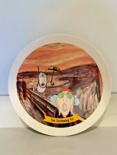 """Hallmark Maxine """" The Screaming Fit """" Plate Signed J Wagner 7.5"""" diameter Snack"""