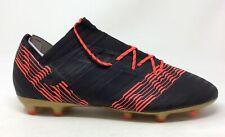 Adidas Mens Nemeziz 17.2 FG Soccer Shoe Black Solar Red Size 13 M US