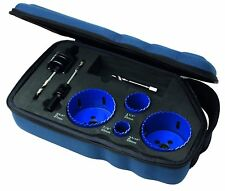 IRWIN 7 Piece Bi-Metal Hole Saw Set 22mm - 67mm with Soft Case Sale Time is Now