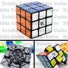 3x3x3 Black Dayan Zhanchi V5 42mm Mini Speed Cube puzzle smooth New -US SELLER-