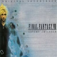 NEW 0562-3 FINAL FANTASY VII ADVENT CHILDREN ORIGINAL SOUNDTRACK CD Music