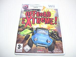 Karts Buggys Offroad Extreme * NINTENDO WII PAL GAME  *