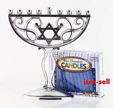 CHANUKAH MENORAH SET WITH 44 CANDLES - Hanukkah Chanukkah