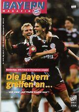 Bayern Magazin 10/49 , Bayern München - Hamburger SV , 31.01.1998