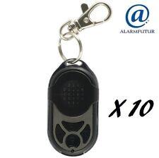 Lot de 10 télécommandes PB-433RII (4 fonctions) pour alarme sans fil Atlantic'S