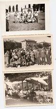Desenzano del Garda e Sirmione 3 foto e stadio squadra con Coppa 1954 - Brescia